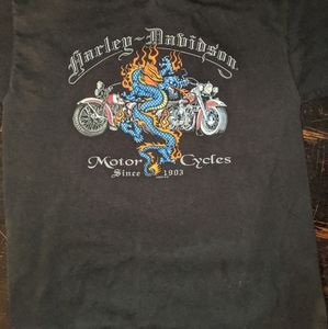{Harley Davidson} Tee